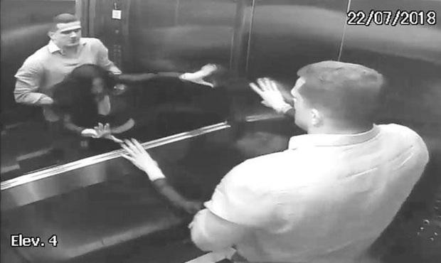 Nữ luật sư bị ném chết từ tầng 4, hình ảnh cuối cùng của nạn nhân vật lộn với chồng trong thang máy khiến ai cũng rùng mình - Ảnh 4.