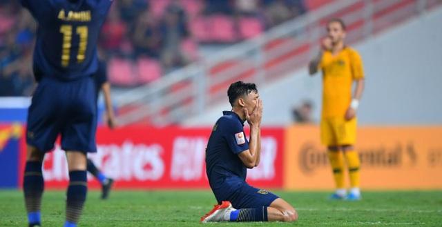 Kết quả hình ảnh cho U23 Thái Lan vs U23 Australia