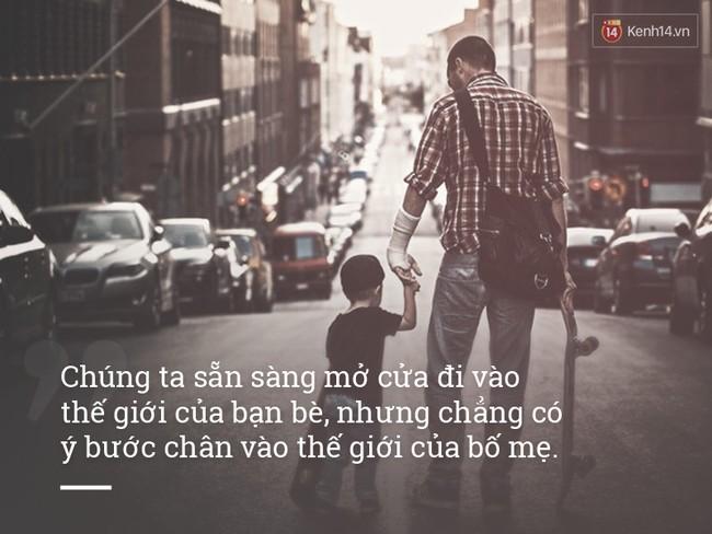 Bố mẹ cũng có lúc buồn và gục ngã đấy, chỉ là bạn không tâm sự và lắng nghe thôi - ảnh 1