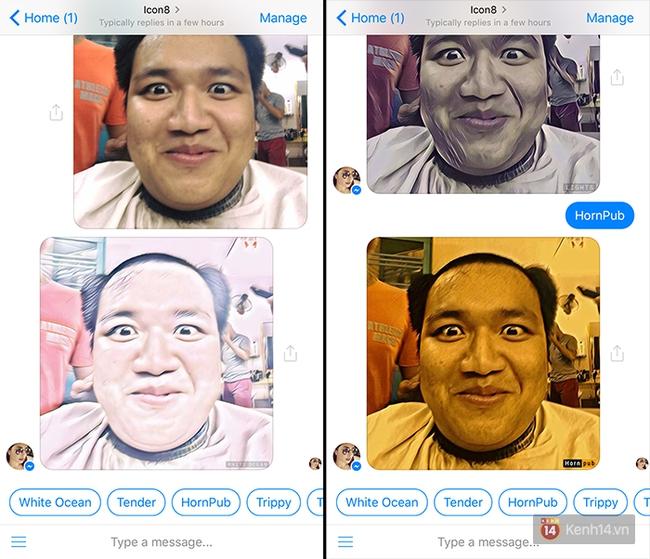 Xoá Prisma đi, giờ Facebook Messenger là đủ để chỉnh ảnh nghệ sống ảo - Ảnh 2.