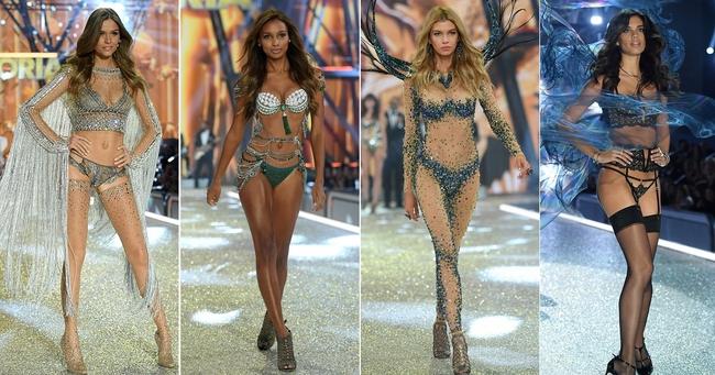 Chiêm ngưỡng loạt hình ảnh nóng bỏng tay trong Victorias Secret Fashion Show 2016! - Ảnh 2.