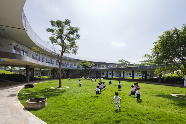 Trường mầm non ở Biên Hòa lọt top 30 công trình đẹp nhất thế giới - Ảnh 8.