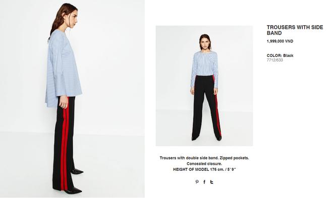 Chiếc quần Zara này đang được các fashionista thế giới thi nhau diện và nó có bán tại store Zara Việt Nam - Ảnh 7.