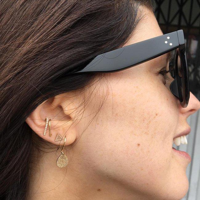 Khuyên tai treo - Xu hướng siêu cool đến cô nàng ghét đeo khuyên tai cũng phải kết - Ảnh 8.