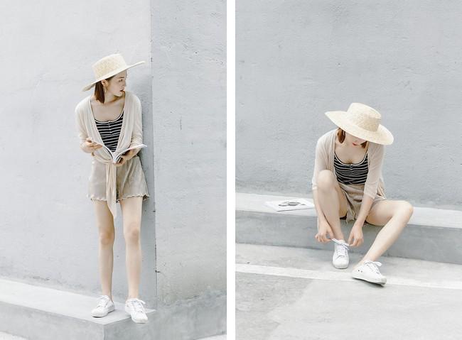 Mũ cói - Sắm ngay kẻo muộn nếu bạn yêu thích phong cách yểu điệu, xinh xắn - Ảnh 9.