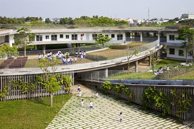 Trường mầm non ở Biên Hòa lọt top 30 công trình đẹp nhất thế giới - Ảnh 11.