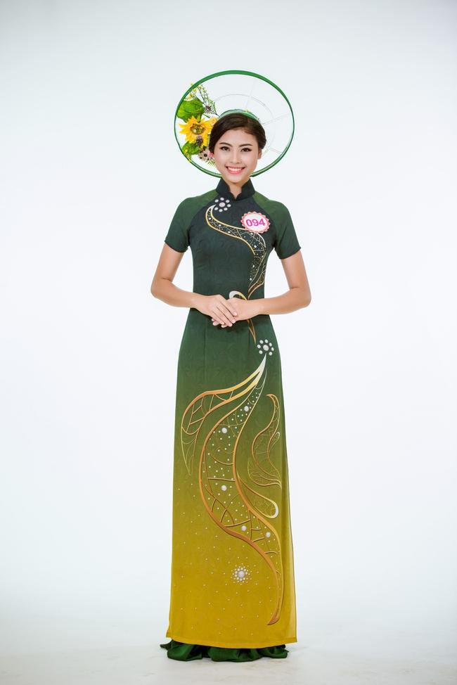 Trước Chung kết, top 30 HHVN 2016 khoe dáng nuột trong bộ ảnh áo dài - Ảnh 4.