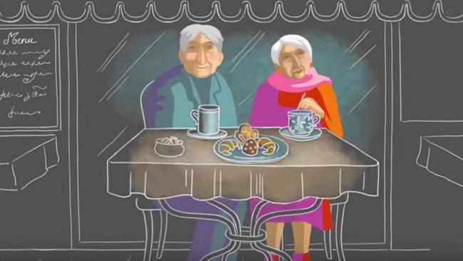 Clip: Khi người ta yêu ở tuổi 85 - Ảnh 2.