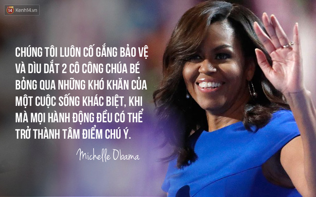 Hãy nghe hết bài diễn văn tuyệt vời của bà Michelle Obama, bạn sẽ hiểu làm Tổng thống nghĩa là gì - Ảnh 2.