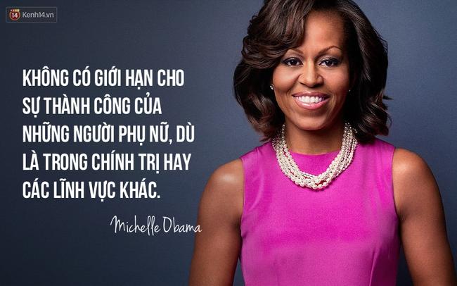 10 câu nói nổi tiếng của bà Michelle Obama truyền cảm hứng cho phụ nữ trên toàn thế giới - Ảnh 10.