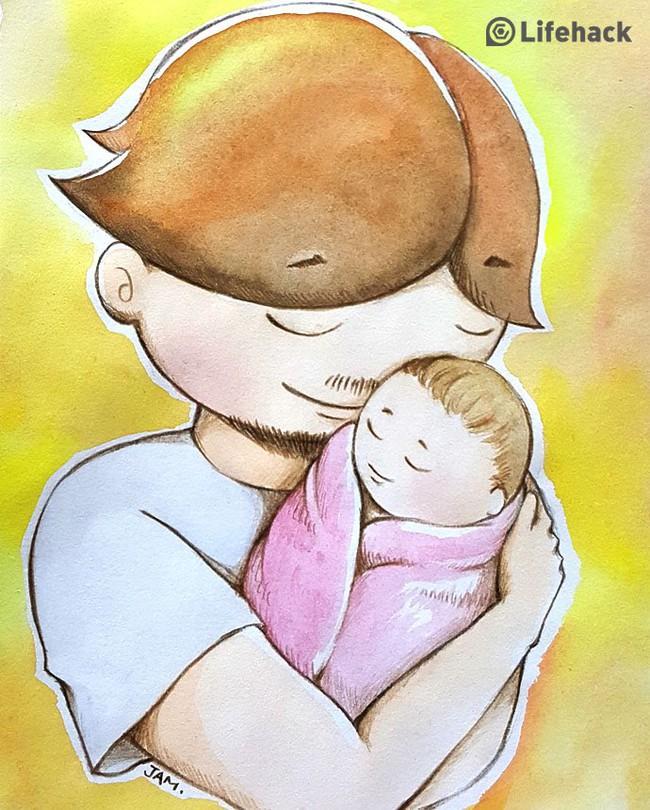 Bộ tranh: Bất cứ cô con gái nào cũng có một ông bố tuyệt vời như thế này đây! - Ảnh 1.