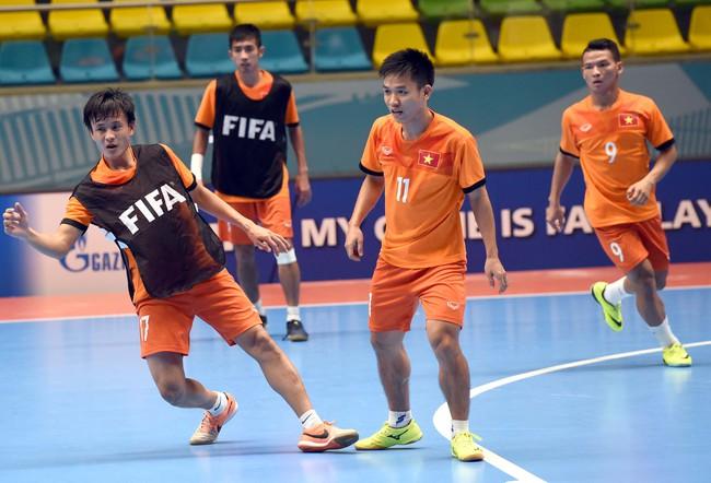 Tuyển futsal Việt Nam tự tin đánh bại đội bóng số 3 thế giới ở vòng 1/8 World Cup - Ảnh 5.
