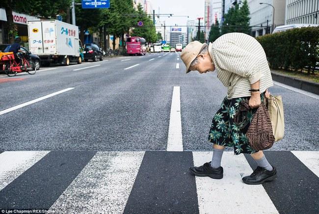 Chùm ảnh cho thấy tinh thần làm việc đáng khâm phục của người cao tuổi Nhật Bản - Ảnh 1.