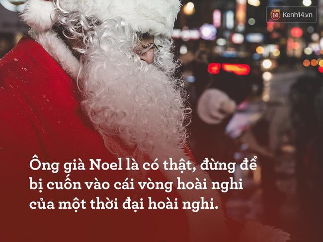 Ông già Noel và niềm tin trẻ thơ vào phép màu đêm Giáng sinh - Ảnh 3.