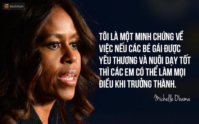 10 câu nói nổi tiếng của bà Michelle Obama truyền cảm hứng cho phụ nữ trên toàn thế giới - Ảnh 1.