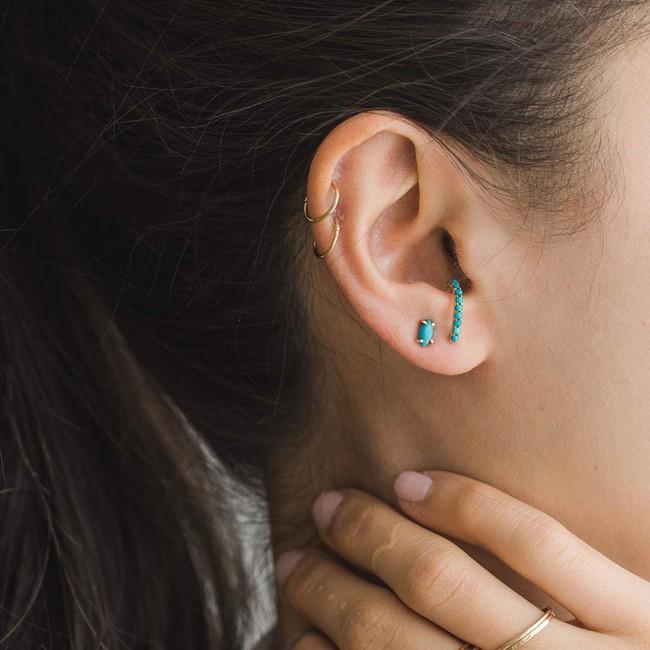 Khuyên tai treo - Xu hướng siêu cool đến cô nàng ghét đeo khuyên tai cũng phải kết - Ảnh 10.