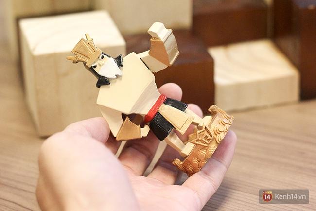Cận cảnh bàn cờ vua in 3D độc nhất Việt Nam với tạo hình Thánh Gióng, Yết Kiêu, Âu Cơ... - Ảnh 5.