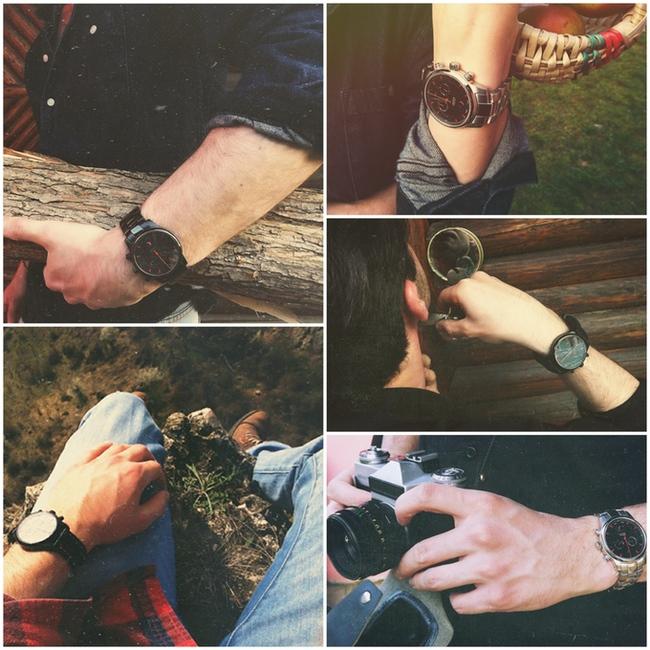 Bộ sưu tập đồng hồ đeo tay bí ẩn mang phong cách ma cà rồng - Ảnh 5.