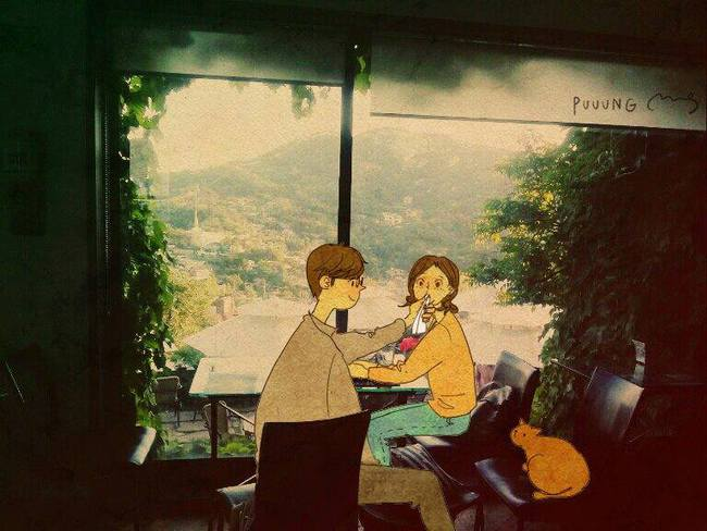 Yêu nhau đôi khi chỉ là làm những việc chẳng liên quan trong lúc ở bên nhau, miễn là cả hai đều vui vẻ - Ảnh 11.