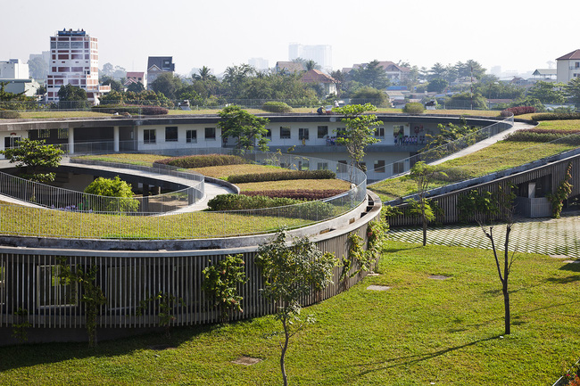 Trường mầm non ở Biên Hòa lọt top 30 công trình đẹp nhất thế giới - Ảnh 2.