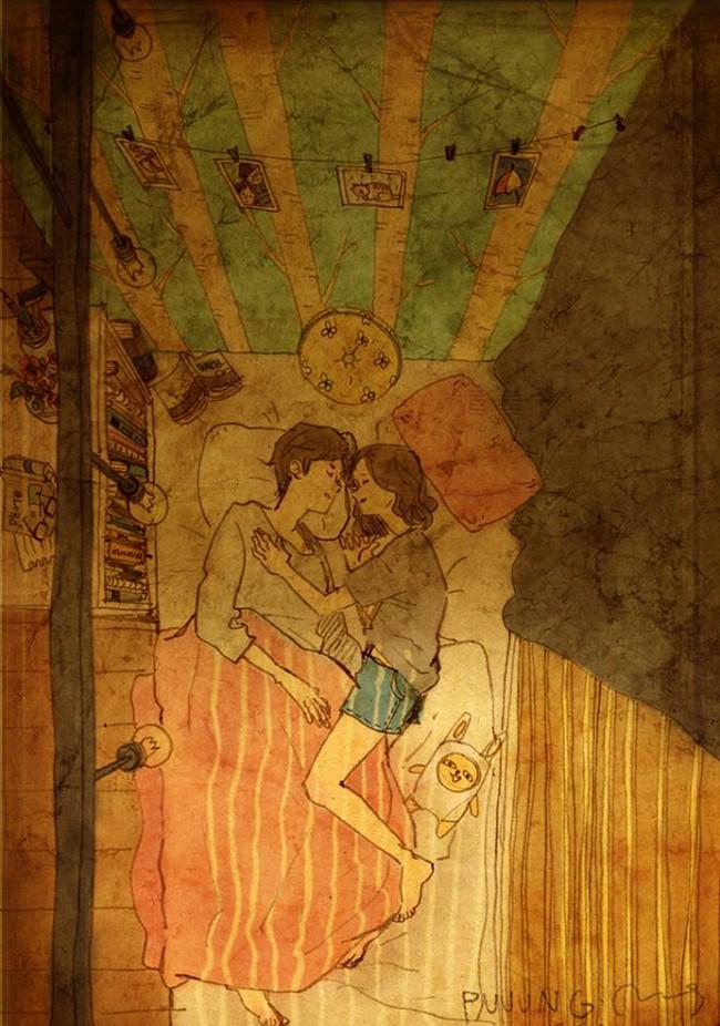 Yêu nhau đôi khi chỉ là làm những việc chẳng liên quan trong lúc ở bên nhau, miễn là cả hai đều vui vẻ - Ảnh 12.