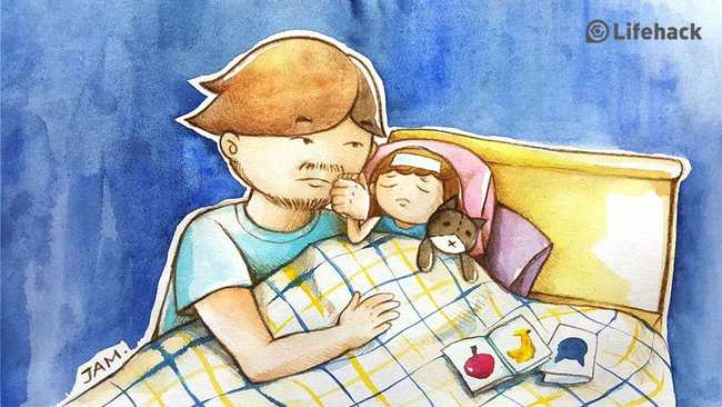 Bộ tranh: Bất cứ cô con gái nào cũng có một ông bố tuyệt vời như thế này đây! - Ảnh 12.