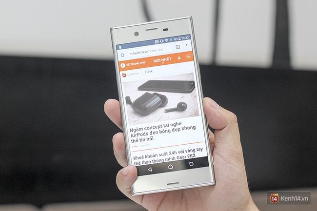 Chiêm ngưỡng vẻ đẹp khó cưỡng của Xperia XZ mà Sony sắp bán ra tại Việt Nam - Ảnh 1.