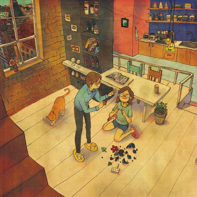 Yêu nhau đôi khi chỉ là làm những việc chẳng liên quan trong lúc ở bên nhau, miễn là cả hai đều vui vẻ - Ảnh 13.
