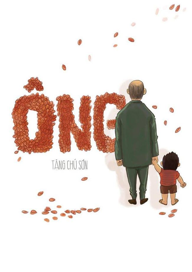Bộ tranh: Ông lúc nào cũng ở bên và yêu thương chúng ta, đến tận những ngày cuối cùng... - Ảnh 1.
