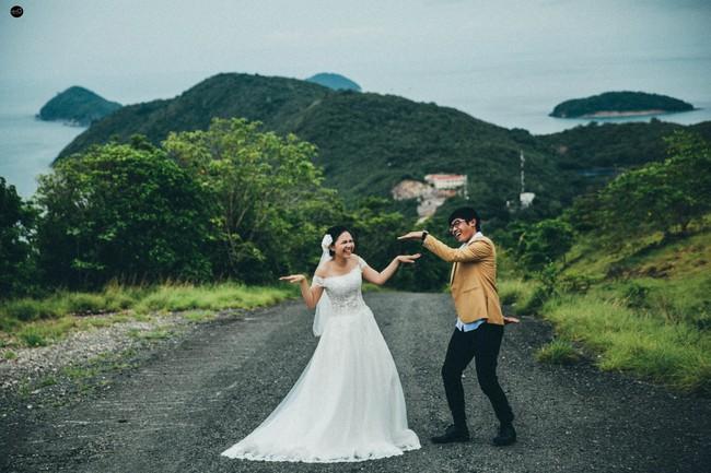 Bộ ảnh cưới nhìn là thấy hạnh phúc của cặp đôi yêu từ tin nhắn: Ê, hai đứa mình quen nhau nha - Ảnh 13.