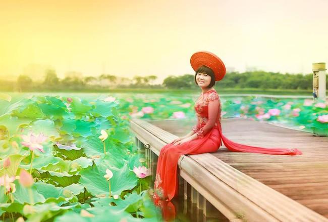 Khi cộng đồng photoshop chung tay đem hồ sen đến với 2 cô gái ung thư máu ở Hà Nội - Ảnh 9.