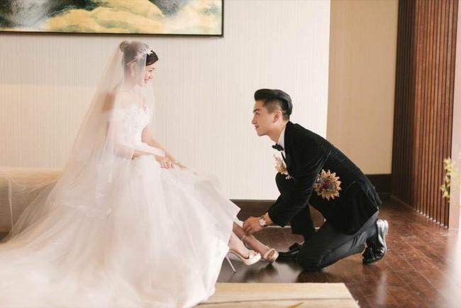 Những hình ảnh đẹp ngây ngất của đám cưới Trần Hiểu - Trần Nghiên Hy - Ảnh 24.