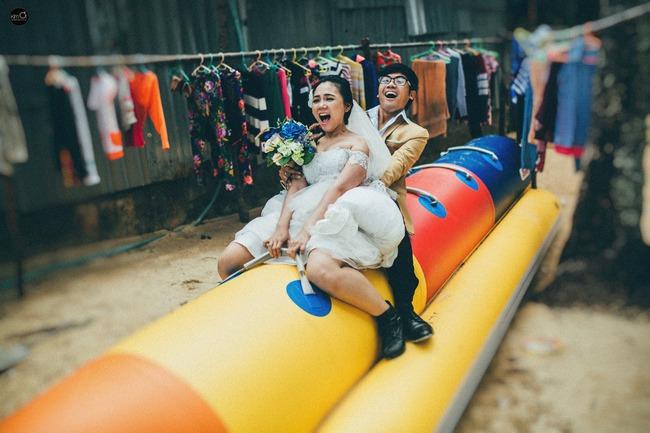 Bộ ảnh cưới nhìn là thấy hạnh phúc của cặp đôi yêu từ tin nhắn: Ê, hai đứa mình quen nhau nha - Ảnh 10.