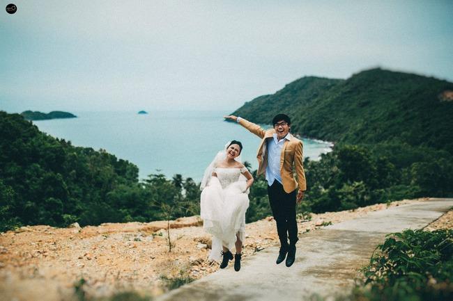 Bộ ảnh cưới nhìn là thấy hạnh phúc của cặp đôi yêu từ tin nhắn: Ê, hai đứa mình quen nhau nha - Ảnh 12.