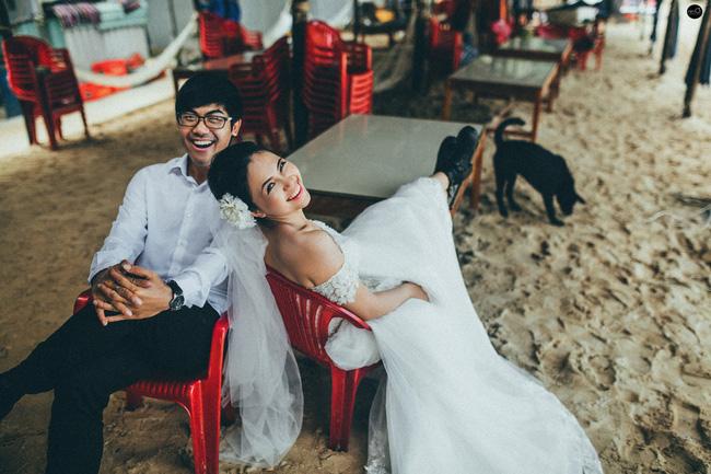 Bộ ảnh cưới nhìn là thấy hạnh phúc của cặp đôi yêu từ tin nhắn: Ê, hai đứa mình quen nhau nha - Ảnh 11.