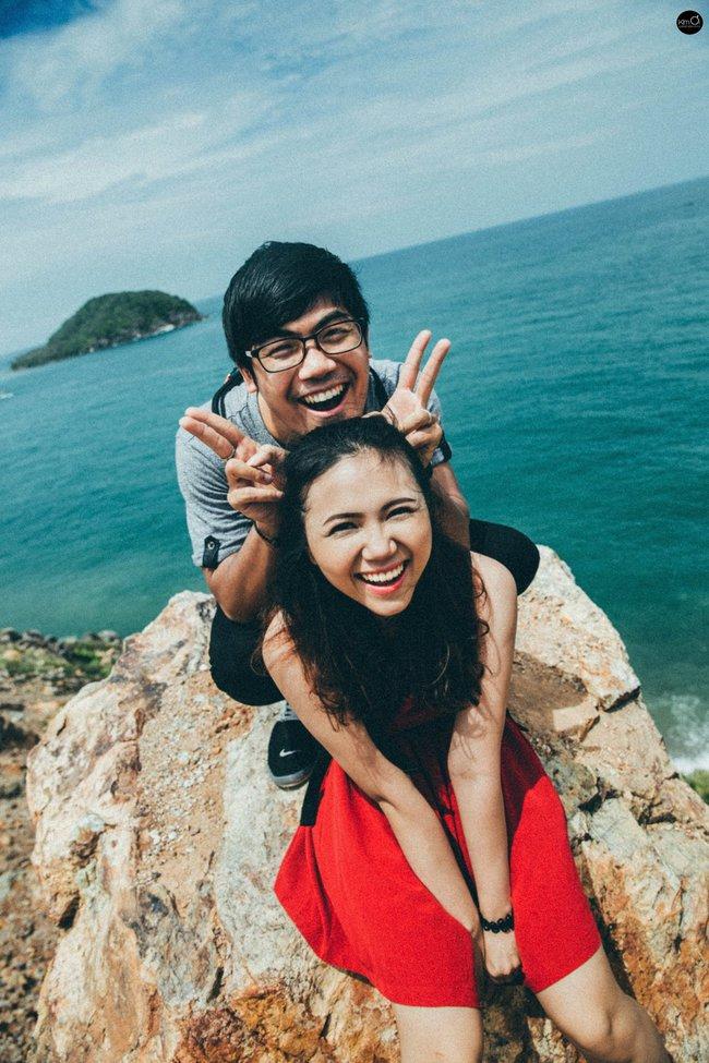 Bộ ảnh cưới nhìn là thấy hạnh phúc của cặp đôi yêu từ tin nhắn: Ê, hai đứa mình quen nhau nha - Ảnh 7.