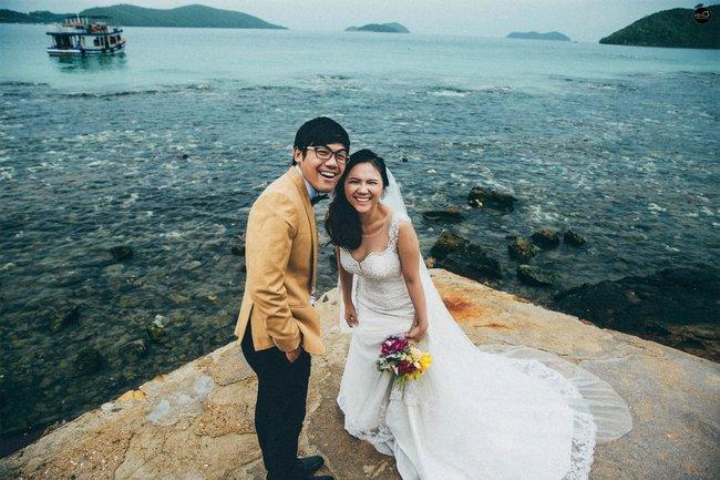 Bộ ảnh cưới nhìn là thấy hạnh phúc của cặp đôi yêu từ tin nhắn: Ê, hai đứa mình quen nhau nha - Ảnh 15.