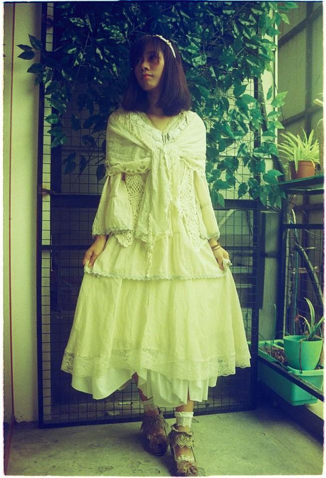 Mori Girl Việt Nam: Những cô nàng chỉ... mặc đồ thôi cũng bị coi là sinh vật lạ - Ảnh 4.