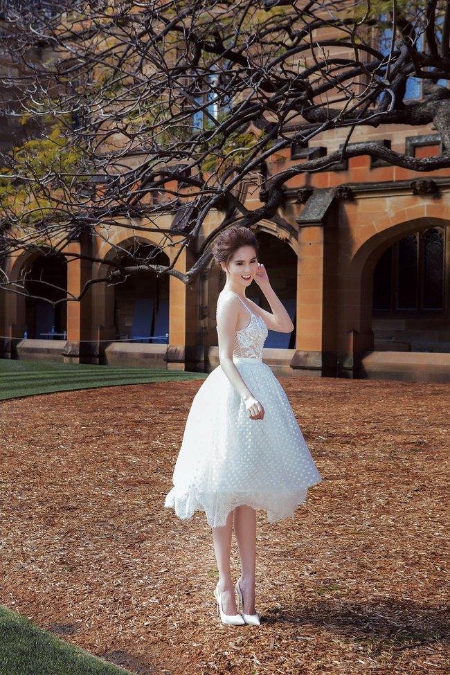 Ngọc Trinh xinh như công chúa trong bộ ảnh thực hiện tại Úc - Ảnh 12.