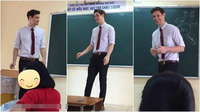 Thêm một thầy giáo Tây khiến HS xuýt xoa: Thế này thì học cả đời em cũng chịu! - Ảnh 1.