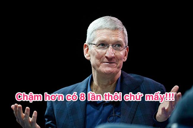 Đừng dại mà mua iPhone 7 dung lượng 32 GB, bởi nó chậm hơn bản 128 GB tới.. 8 lần - Ảnh 3.