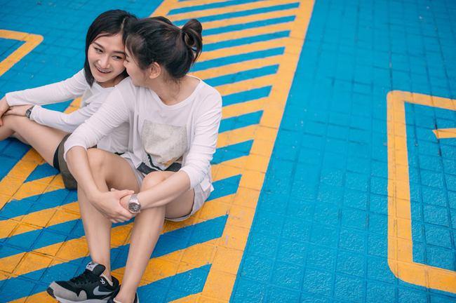 Bộ ảnh tình yêu của hai cô gái Thái Lan sẽ khiến bạn tan chảy vì quá dễ thương! - Ảnh 5.