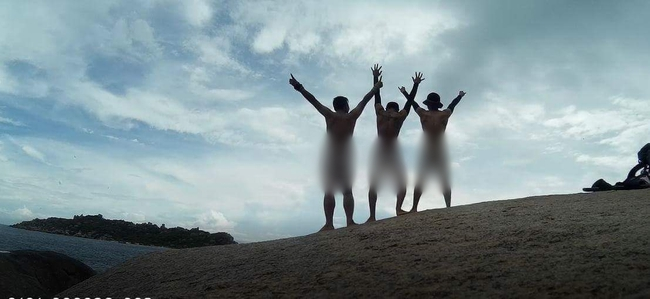 Các nam phượt thủ có sở thích trần truồng check-in trên đỉnh núi khiến phái nữ bức xúc - Ảnh 4.