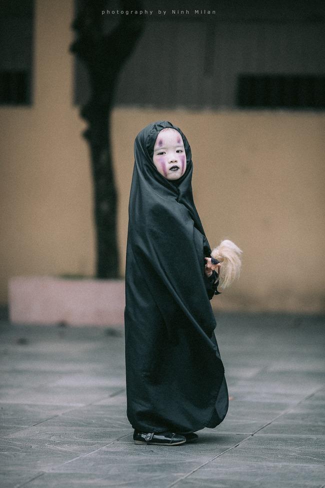 Không kém cạnh cô bé Đài Loan, Vô Diện nhí phiên bản Việt cũng đáng yêu vô cùng! - Ảnh 13.