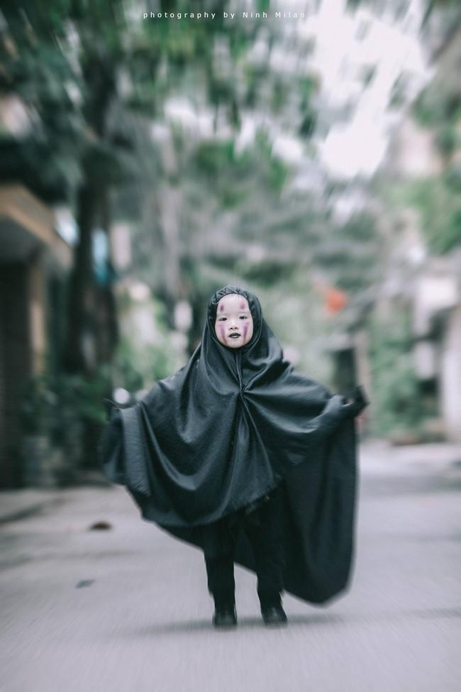 Không kém cạnh cô bé Đài Loan, Vô Diện nhí phiên bản Việt cũng đáng yêu vô cùng! - Ảnh 14.