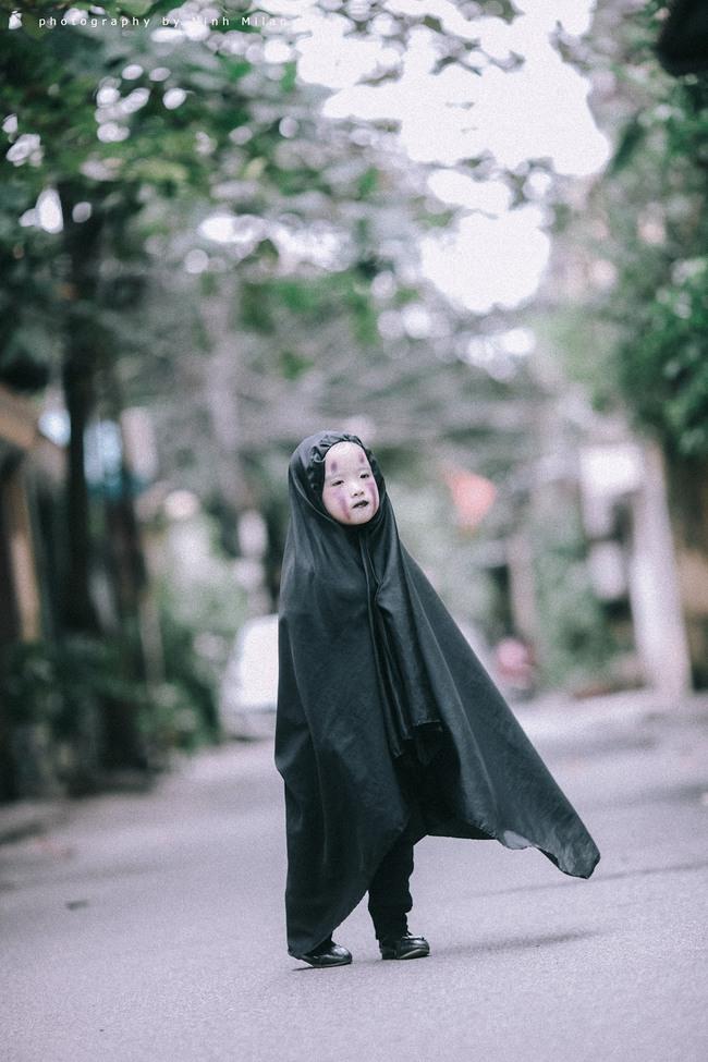 Không kém cạnh cô bé Đài Loan, Vô Diện nhí phiên bản Việt cũng đáng yêu vô cùng! - Ảnh 11.