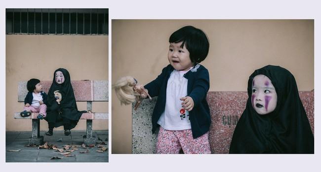 Không kém cạnh cô bé Đài Loan, Vô Diện nhí phiên bản Việt cũng đáng yêu vô cùng! - Ảnh 5.