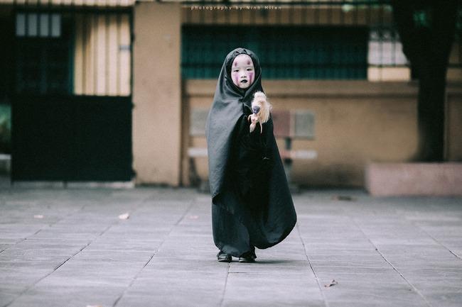 Không kém cạnh cô bé Đài Loan, Vô Diện nhí phiên bản Việt cũng đáng yêu vô cùng! - Ảnh 10.