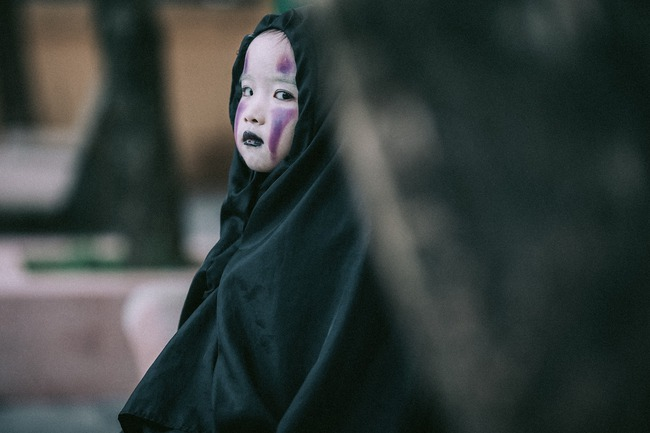 Không kém cạnh cô bé Đài Loan, Vô Diện nhí phiên bản Việt cũng đáng yêu vô cùng! - Ảnh 8.