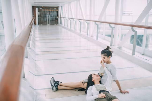 Bộ ảnh tình yêu của hai cô gái Thái Lan sẽ khiến bạn tan chảy vì quá dễ thương! - Ảnh 16.